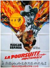 LA POURSUITE IMPITOYABLE The Chase Affiche Cinéma / Movie Poster BRANDO REDFORD