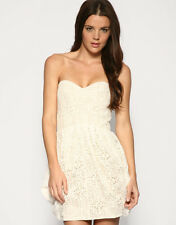 ASOS Crochet Parachute Bandeau Dress, Size 10 BRAND NEW WITH TAGS RRP £48
