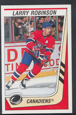 Panini 1989-1990 NHL Ice Hockey Sticker No 245 - Larry Robinson - Canadiens