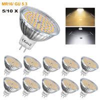 5/10X GU5.3 MR16 LED Bulb Spot lights 4W SMD 2835 Light Bulbs Lamps Warm Cool