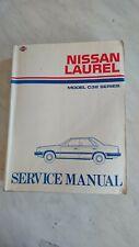 Nissan Laurel C32,genuine workshop manual, good used condition.