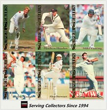 Cricket Card set-1994/95 Futera Cricket Trading Cards Super Series Full Set (40)