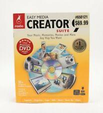 Roxio Easy Media Creator 9 PC Video Conversion Editing Software Windows XP Vista