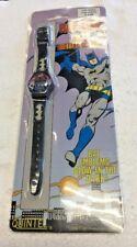 1989 Bat Man LCD Digital Watch by Quintel