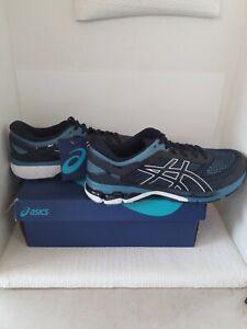 Asics Men's Gel Kayano 26 Running Shoes 1011A541 Midnight/Grey Floss Size 14