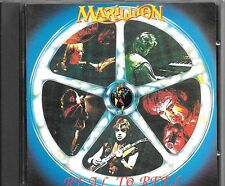 CD ALBUM 7 TITRES--MARILLION--REAL TO REEL + POSTER--1984