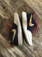 Rare Usa red, white, and blue Nike Id tennis shoes 5.5