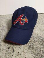 NEW ERA ATLANTA BRAVES M/L BLUE/RED AUTHENTIC COLLECTION HAT MLB Baseball Cap