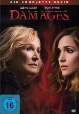 DAMAGES, Die komplette Serie (Glenn Close, Rose Byrne) 15 DVDs NEU+OVP