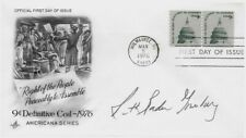RUTH BADER GINSBURG (b.1933) US Supreme Court Justice-Signed 1976 FDC q14