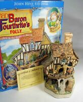 David Winter Cottages: Mad Baron Fourthrite's Folly