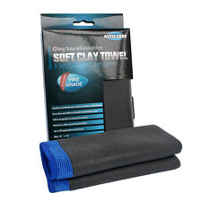 "12x12"" Microfiber Clay Bar Mitt Auto Car Detailing Cloth Cleaning Care Towels"
