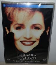 DVD BARBARA DICKSON - LIVE AT THE ROYAL ALBERT - NUOVO NEW