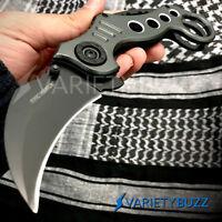 TAC FORCE SPEEDSTER MODEL ASSISTED POCKET KNIFE Karambit Spring Folding Blade