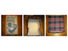 Vintage Hankscraft Carry-all Bassinet Crib Set Original Box Baby Infant