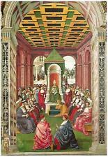 Postcard Pinturicchio Piccolomini Before Pope Eugenius IV Duomo Siena Italy