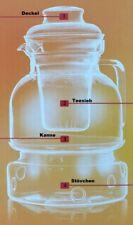 Teekanne mit Stövchen Teesieb 1 5l Termisil