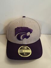 pretty nice 24994 c1d8f Kansas State Wildcats New Era 59 Fifty Low Profile Change Up Fitted Hat 7 1