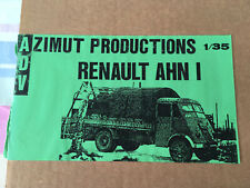 CAMION RENAULT AHN 1 - KIT ADV - AZIMUT PRODUCTIONS 1/35