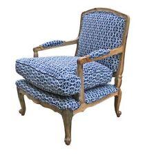 Wood & Fabric Armchairs