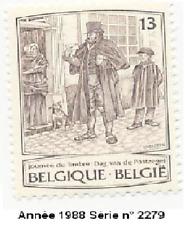 Année 1988 Journée du timbre. Peinture de James Thiriar (1989-1965) N° 2279