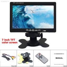 6A01 New Cheap 7 inch Portable LCD Analog TV FM MP3 USB Slot Car TV SM