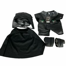 BAB Build A Bear Workshop Star Wars Darth Vader Costume Outfit Clothing 5 pieces