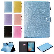 Glitter Leather Stand Smart Case Cover For iPad 5th 6th Generation Mini Air Pro