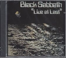 "BLACK SABBATH  ""Live At Last""  NEW SEALED ROCK CD--GREAT MUSIC!"