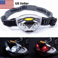 3 Modes Bright 6 LED Head Lamp Light Torch Headlamp Headlight Flashlight PLVe KK