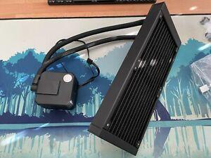 EK AIO Basic 240mm All-in-One Liquid CPU Cooler with NOCTUA CHROMAX FANS 120mm