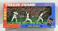 1998 Starting Lineup Freeze Frame Greg Maddux Atlanta Braves (Set of 3 Figures)