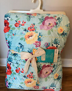 ✅The Pioneer Woman NEW Floral Patch Quilt Set, 3 Piece Full/Queen SHIPS FAST!👀