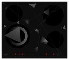 PIANO COTTURA VETROCERAMICA ELETTRICO INCASSO 60 CM 6300W FABITA MADE IN ITALY