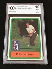 Peter Jacobsen  1981 DONRUSS  #26  BGS 10 Mint Or Better Nice Golf Card