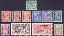 Bechuanaland 1913 1/2d-5s GB GV SG 73-89 Scott 83-95 LMM/MLH Cat £260($343)