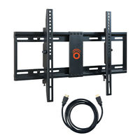 "ECHOGEAR Tilting Low Profile TV Wall Mount for 32-70"" LED, LCD and Plasma TVs"