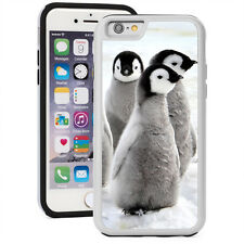 For iPhone SE 5 5s 5c 6 6s 7 Plus Shockproof Hard Case Cover 1522 Penguin Chicks