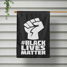 """Black Lives Matter United Fist Flag Parade Protect Personal Size 23.62"""" x 15.75"""""""