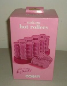 Conair Big Style small case Compact 10 Hot Rollers Pink