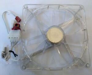 Cooler Master Blue LED Silent Case Fan 140mm 14cm Clear