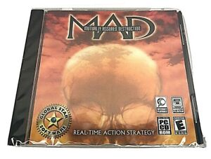 MAD: Mutually Assured Destruction PC CD Thermonuclear War WIN 98/ME New/Sealed