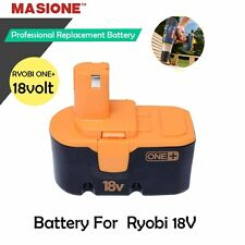 NEW MASIONE NICD BATTERY FOR RYOBI ONE PLUS 18v VOLT COMPACT P100