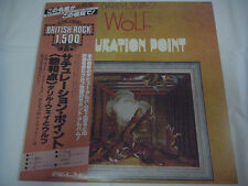 DARRYL WAY'S WOLF-Saturation Point JAPAN Press w/OBI Curved Air King Crimson