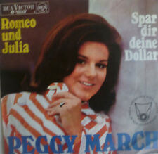 "7"" 1967 KULT IN VG++ ! PEGGY MARCH : Romeo und Julia"