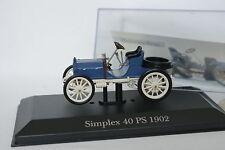 Ixo Presse 1/43 - Simplex Mercedes 40ps 1902