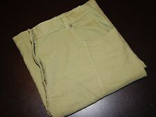 Woolrich Skirt 14 Green Apple Stretch Cotton Straight Country Womens 5010 B21