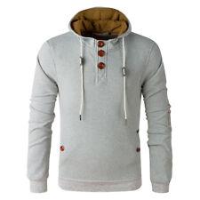 Stylish Men's Slim Warm Hooded Sweatshirt Hoodie Coat Top Jacket Outwear Sweater