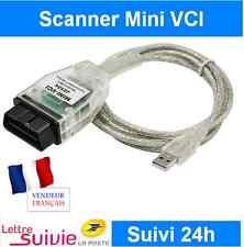 PROMO - CABLE MINI VCI J2534 TOYOTA ET LEXUS OBD OBD2 INTERFACE DIAGNOSTIC AUTO