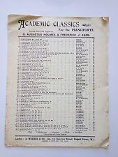Academic Classics No.120 - Two inventions - Grade B -Holmes & Karn - Sheet Music